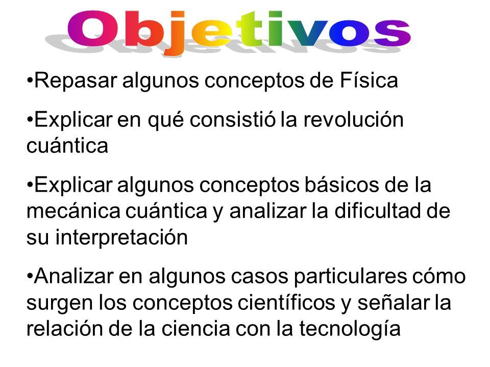 Las leyes de Kepler La estática y las construcciones La mecánica de los fluidos, de los sólidos, etc.