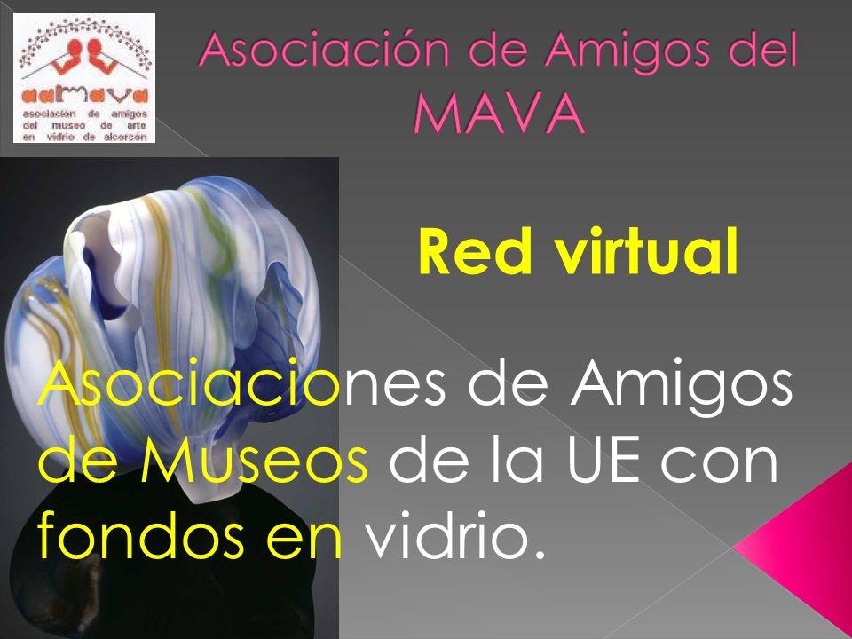 Asociaciones de Amigos de Museos de la UE con fondos en vidrio. Red virtual