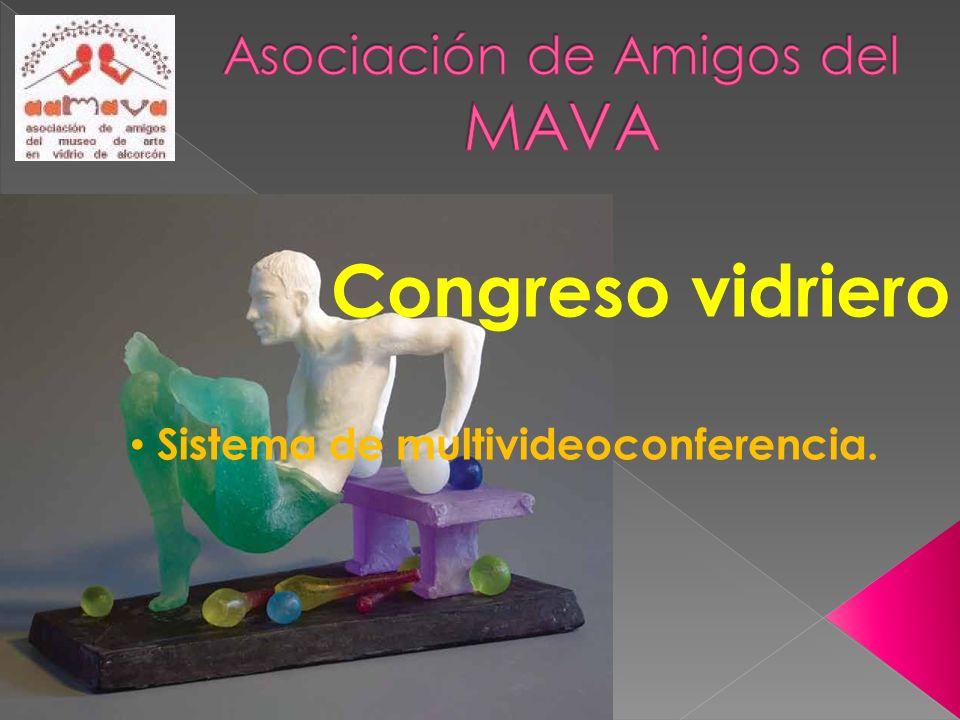 Congreso vidriero Sistema de multivideoconferencia.