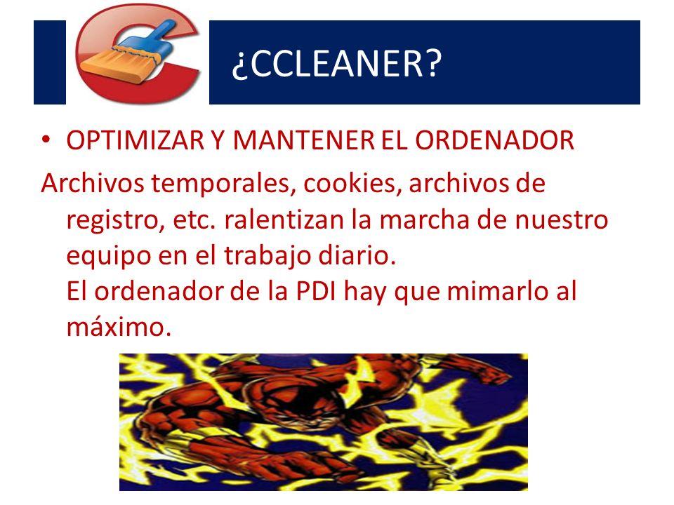 ¿CCLEANER.