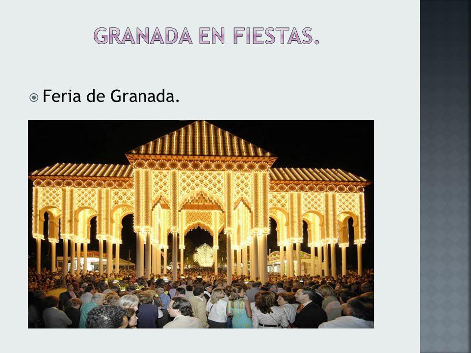 Granada es el escenario de un sin número de actos culturales, organizados por la universidad, empresas privadas y hasta los ayuntamientos se dedican a organizar conciertos, festivales internacionales de baile como el tango, festivales de poesía de música y danza con el fin de atraer a un mayor número de visitantes y aumentar así el turismo.