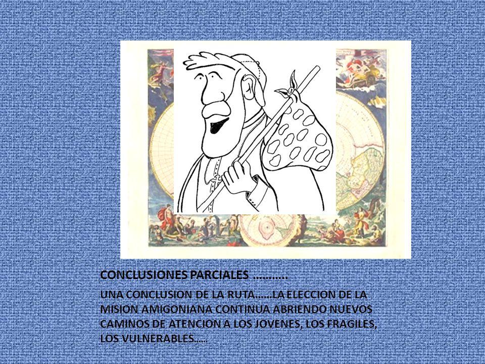 CONCLUSIONES PARCIALES ………..