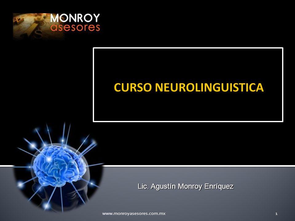 www.monroyasesores.com.mx1 Lic. Agustín Monroy Enríquez