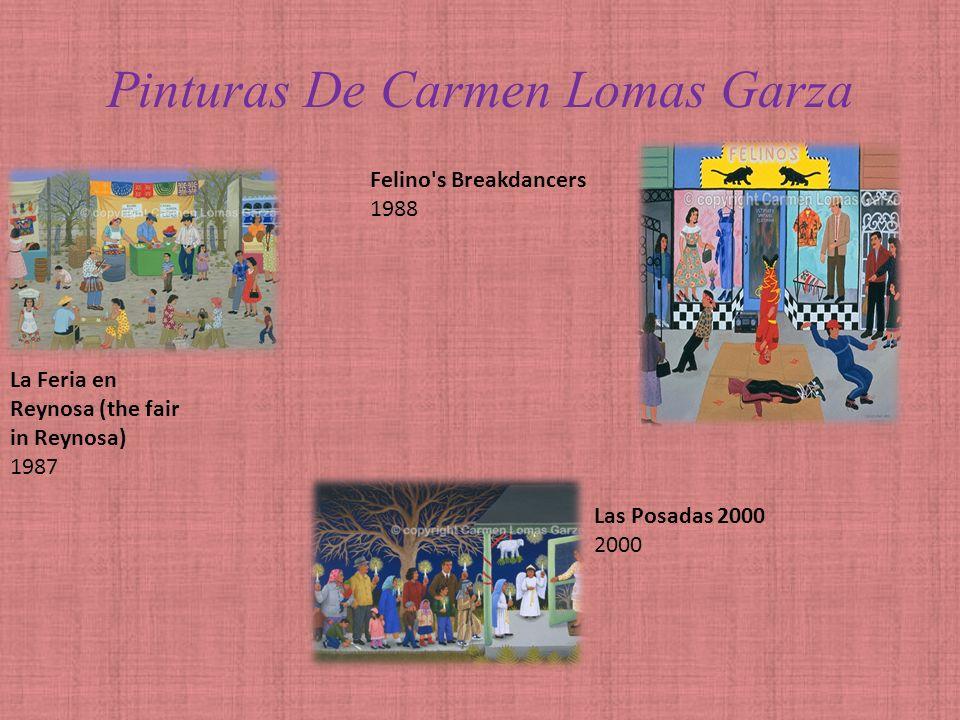 Pinturas De Carmen Lomas Garza Barriendo de Susto 1986 Sandia / Watermelon 1986