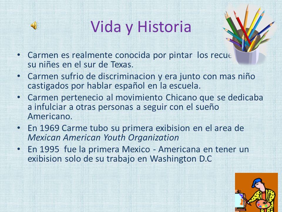 Pinturas De Carmen Lomas Garza La Feria en Reynosa (the fair in Reynosa) 1987 Felino s Breakdancers 1988 Las Posadas 2000 2000