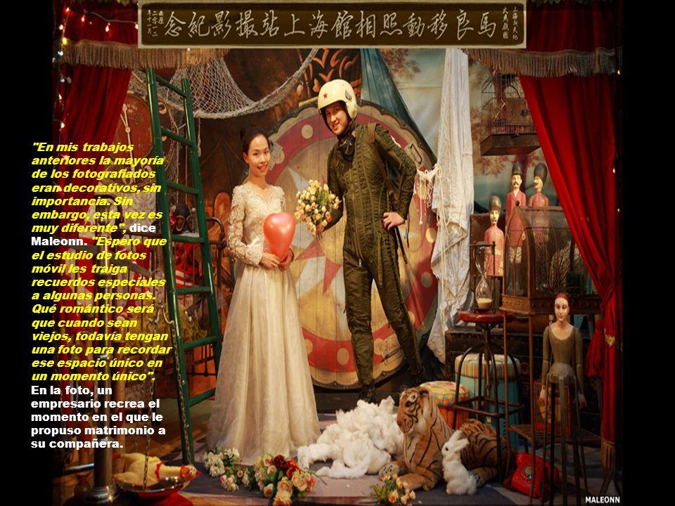 Ahora que ha completado el proyecto en China, el artista está considerando un viaje por Reino Unido y Holanda.