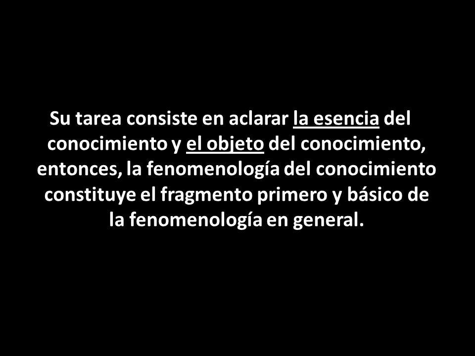 En palabras finales nos gustaría dejar la visión de Husserl sobre la corriente trabajada: La fenomenología trascendental permite ver el sentido de las cosas viéndolas como fenómeno conciencia, se concibe como una tarea de clarificación, que para poder llegar a las cosas mismas debe partir de su propia subjetividad.