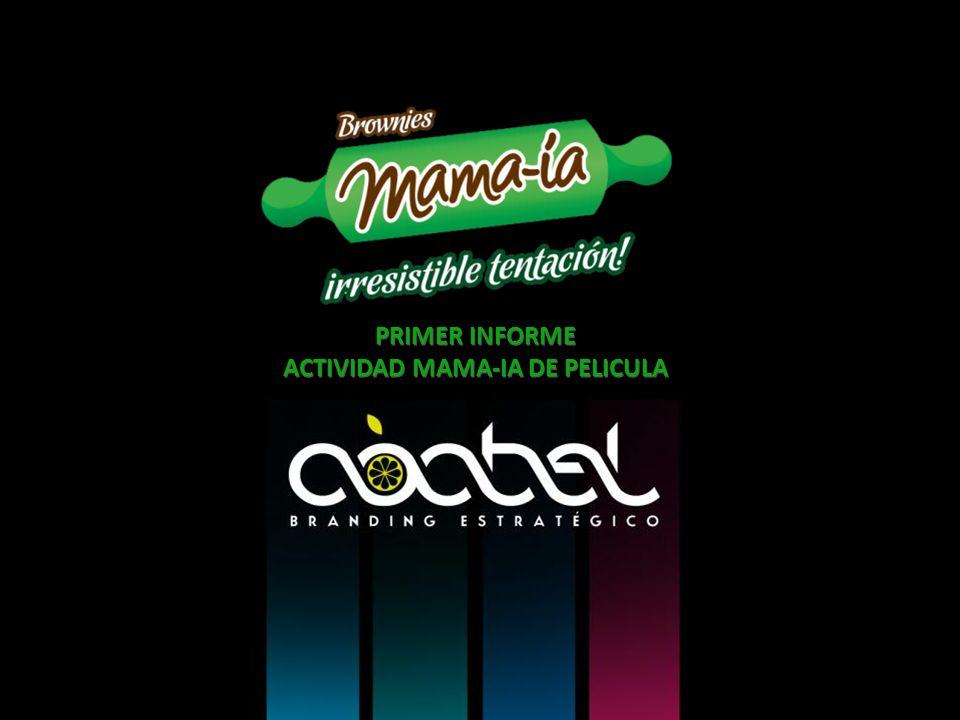 PRIMER INFORME ACTIVIDAD MAMA-IA DE PELICULA