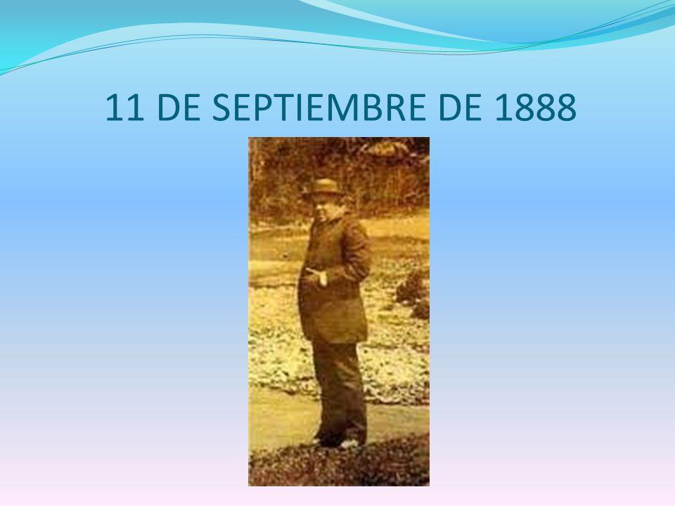 11 DE SEPTIEMBRE DE 1888