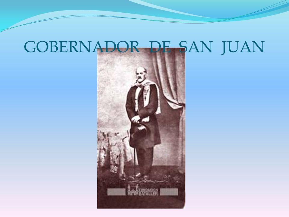 SU PRESIDENCIA EL 12 DE OCTUBRE DE 1868 ASUMIÓ COMO PRESIDENTE.
