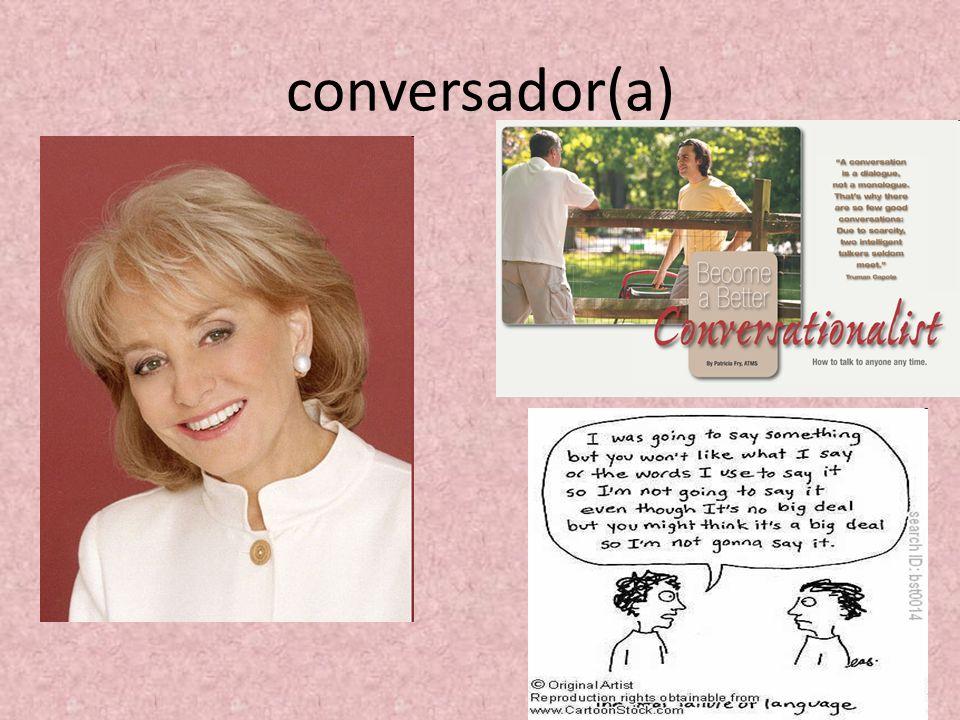 conversador(a) 13