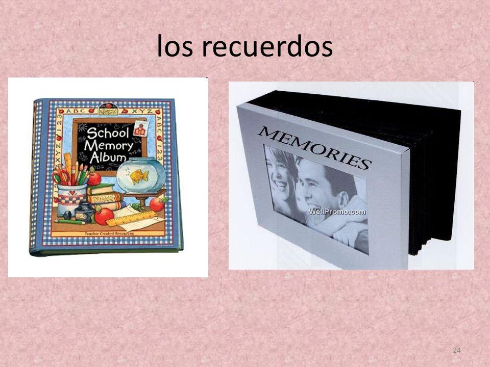 los recuerdos 24