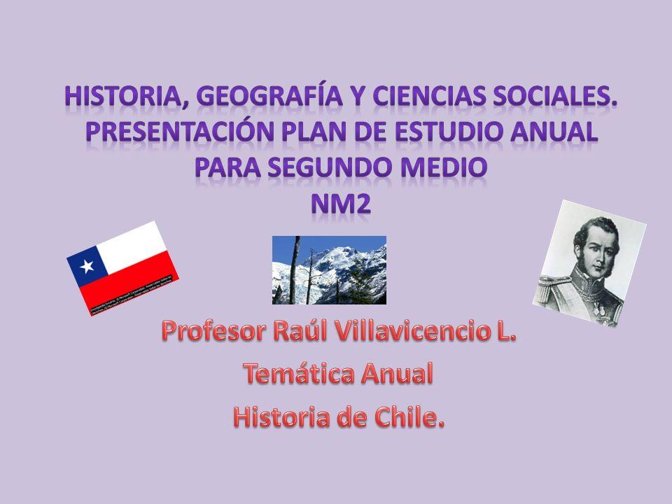 Fundamentación del proyecto: Historia de Chile.
