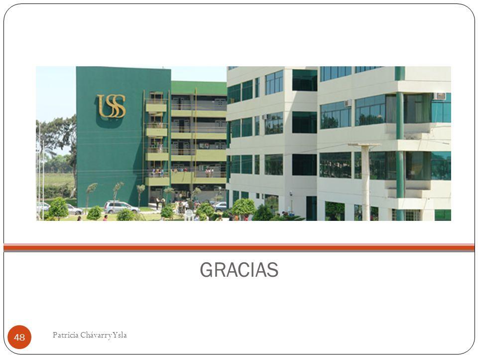 GRACIAS 48 Patricia Chávarry Ysla