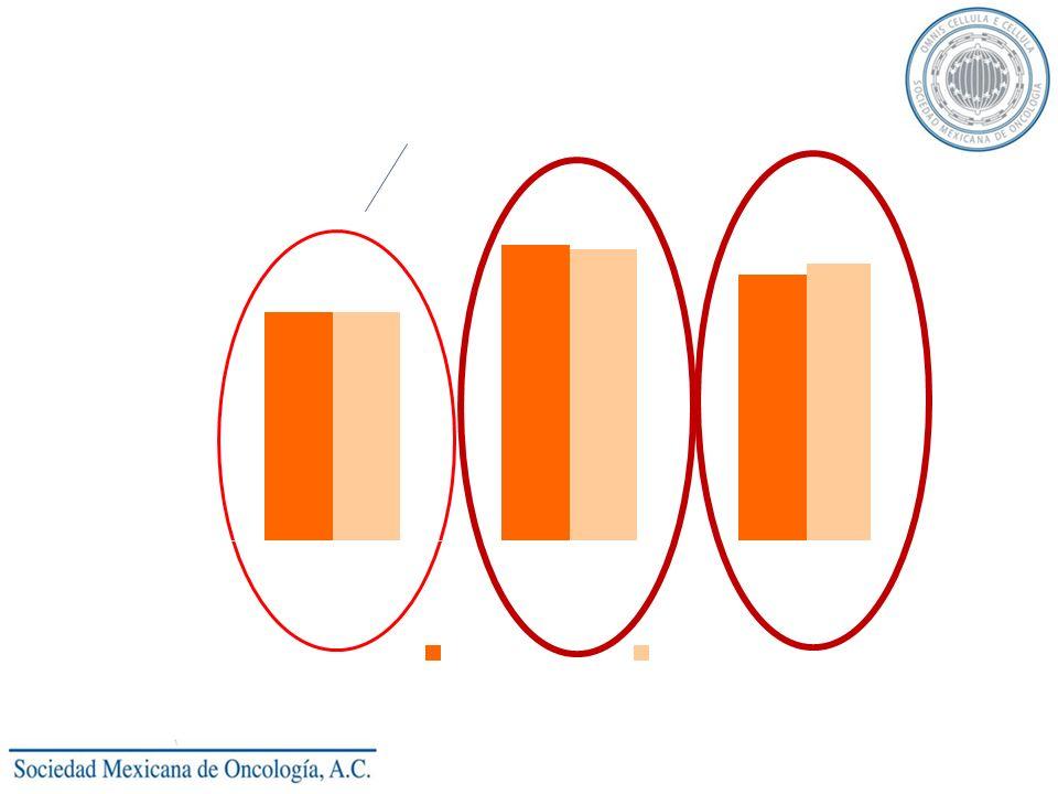 Respuestas completas : Objetivo primario (No emesis, no rescate ) Complete Response (% of Patients) p>0.05 at all time points (Cochran-Mantel-Haenszel