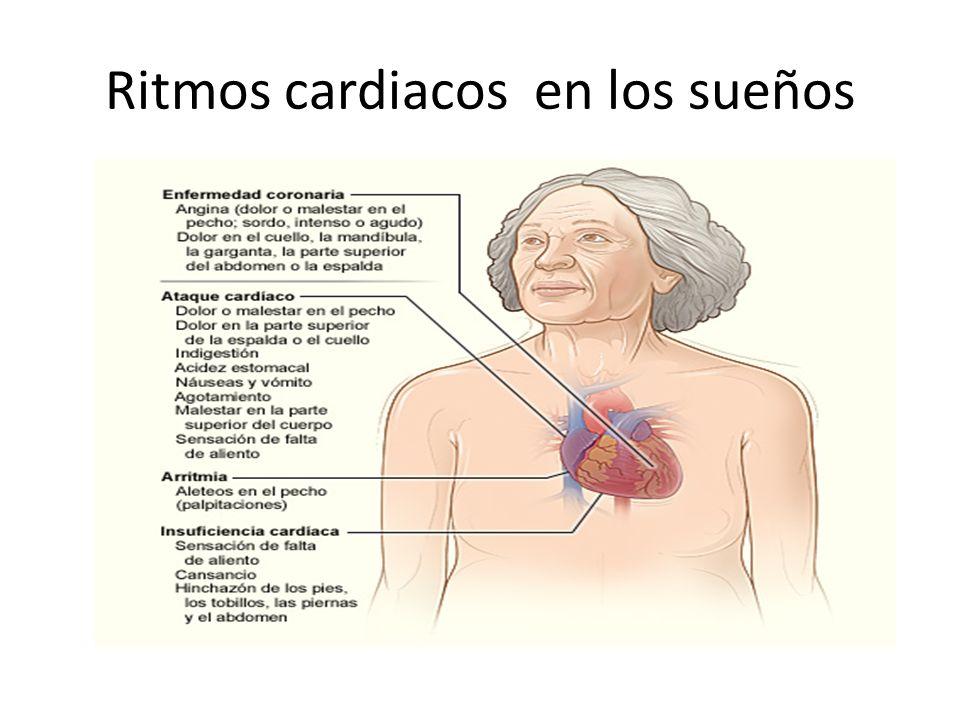 Ritmos cardiacos en los sueños
