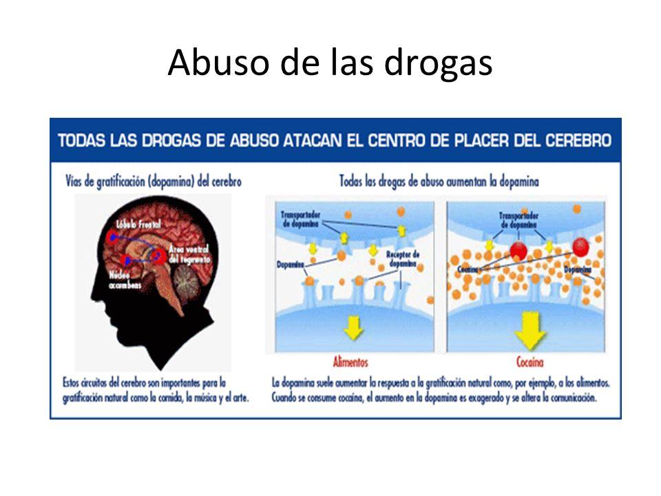 Abuso de las drogas
