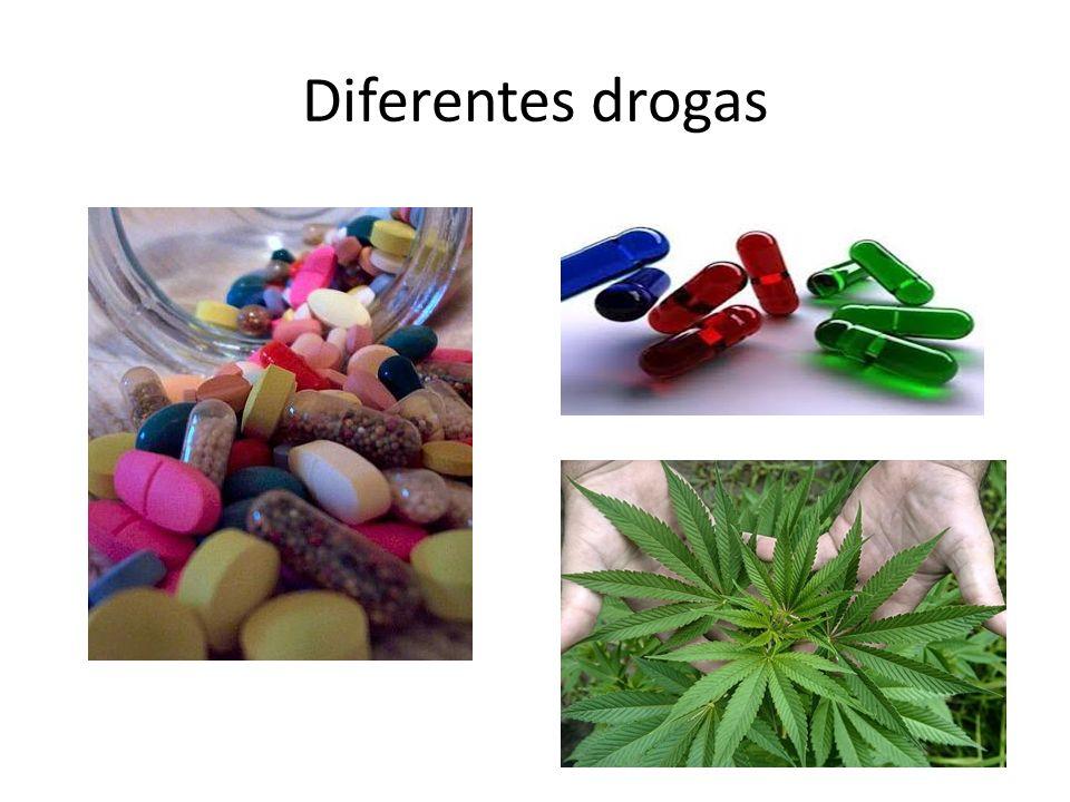 Diferentes drogas
