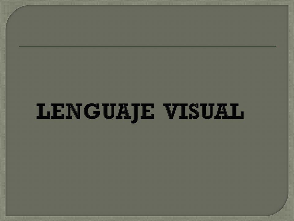 El lenguaje visual es un proceso a través del cual podemos transmitir mensajes por medio de imágenes fijas o en movimiento.