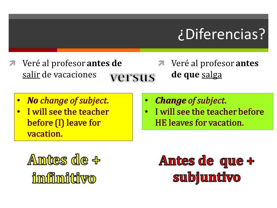 ¿Diferencias.