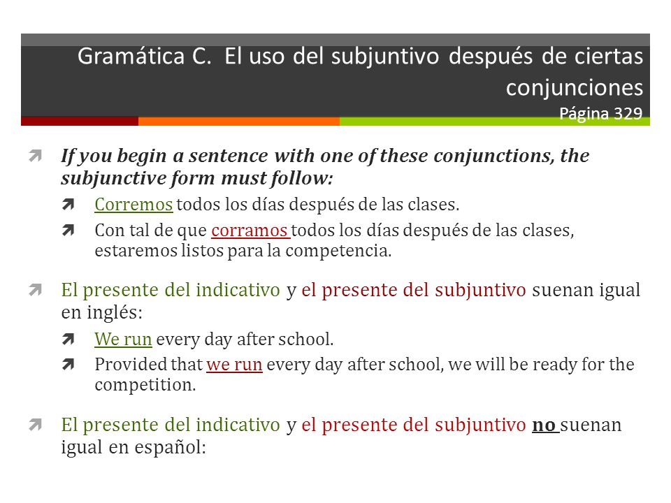 Gramática C.