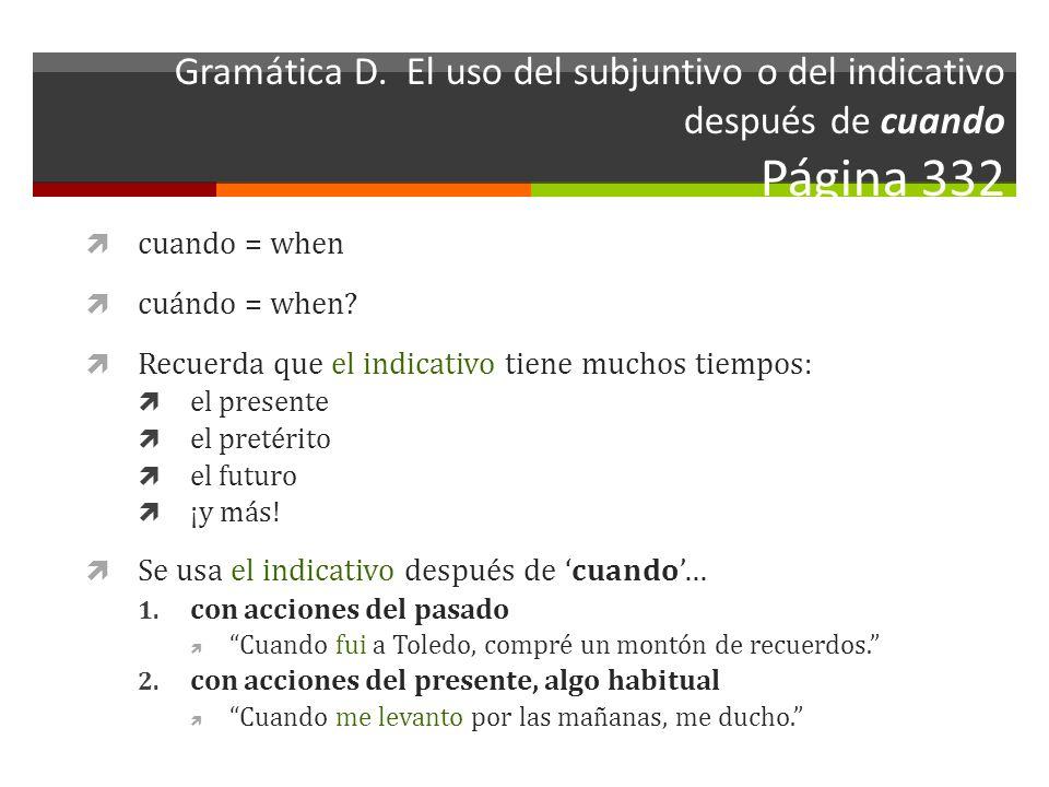 Gramática D.