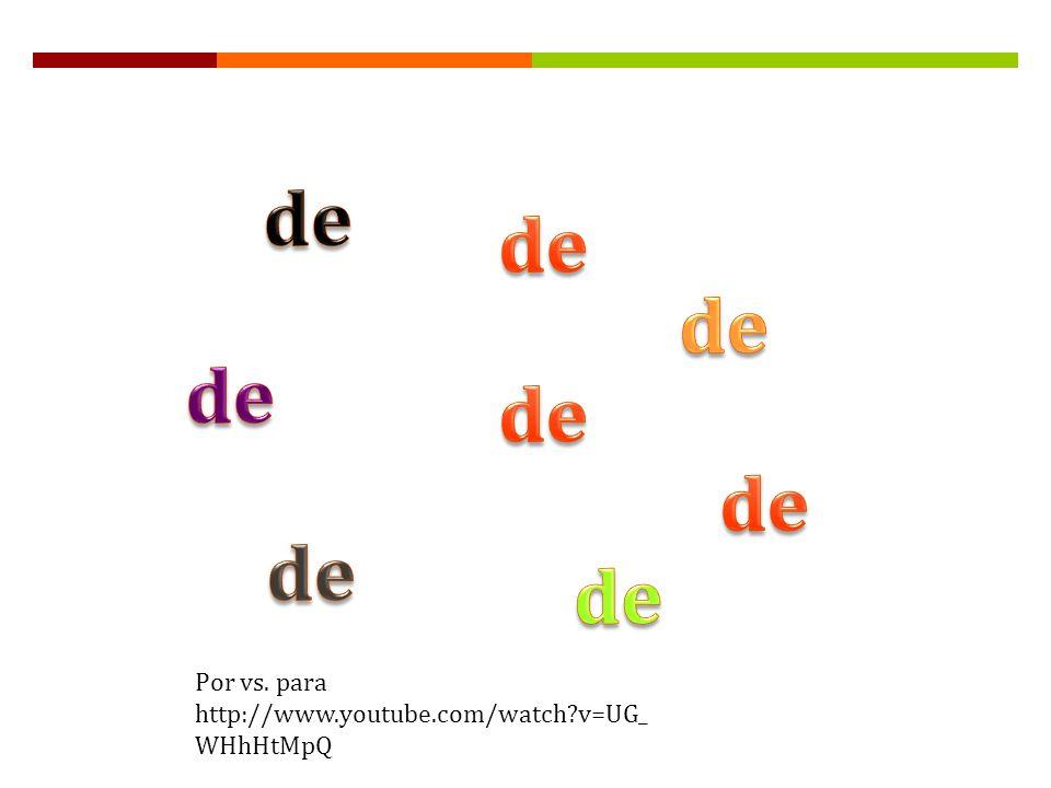 Gramática B: El uso del infinitivo después de ciertas preposiciones página 327 Usamos los verbos infinitivos con más frecuencia en español que en inglés.
