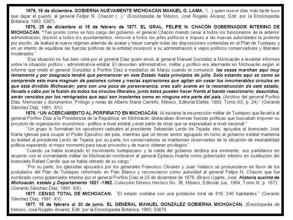 1871, 15 de septiembre.RAFAEL CARRILLO GOBIERNA EL ESTADO DE MICHOACÁN.