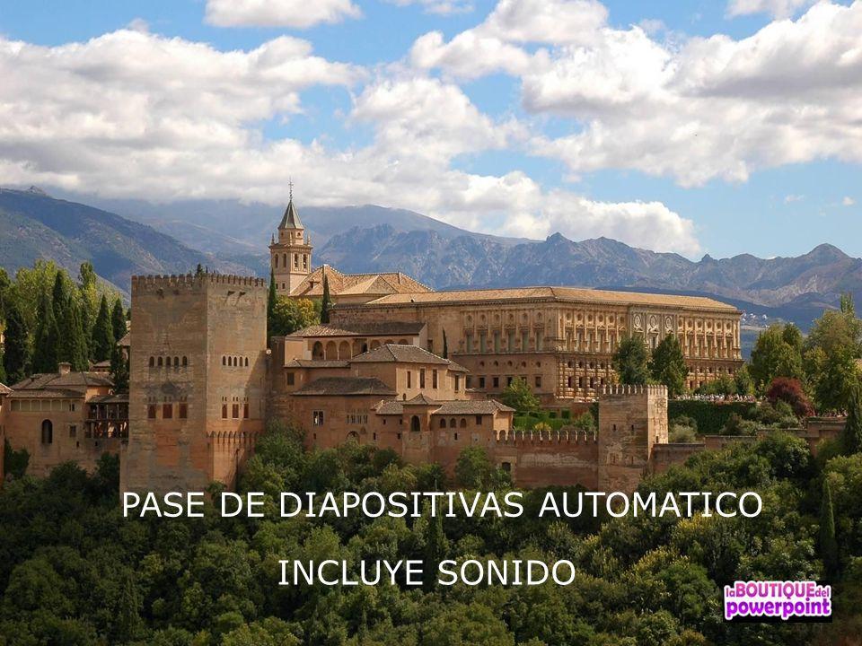 PASE DE DIAPOSITIVAS AUTOMATICO INCLUYE SONIDO