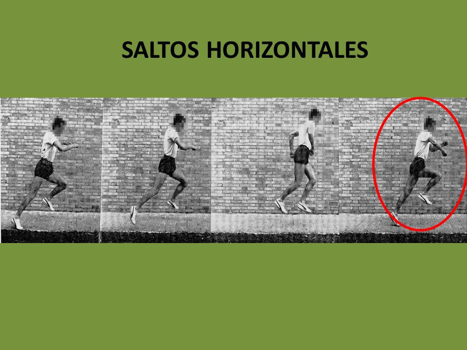 SALTOS HORIZONTALES