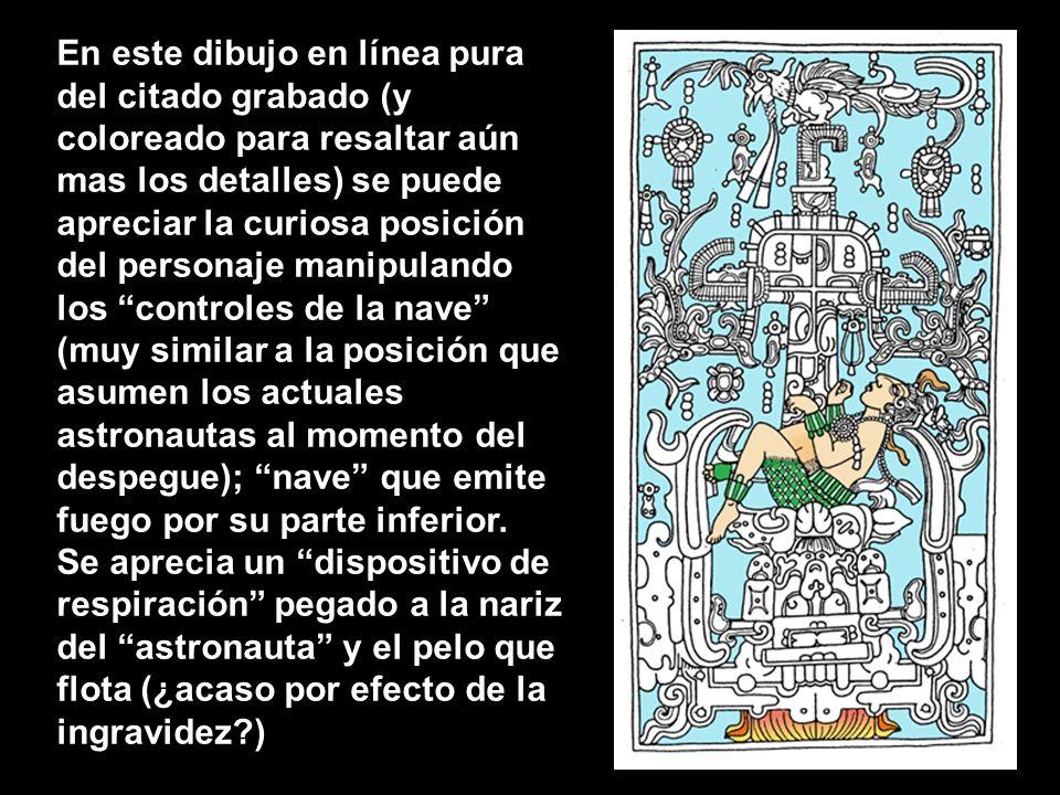 En 1949 el arqueólogo Alberto Ruz de Lhuiller descubre, en un templo de la ciudad maya de Palenque (el Templo de las Inscripciones), en México, una tu
