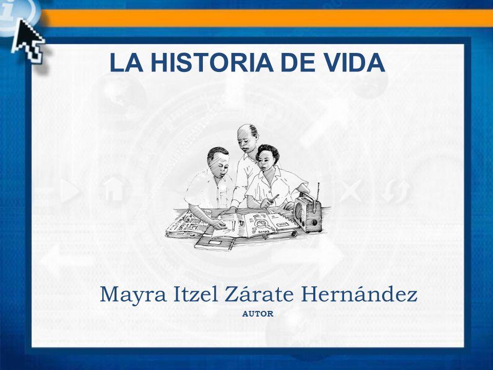 CONCEPTO DE LA HISTORIA DE VIDA Es una biografía ampliada de una persona, puede incluir datos inéditos, aspectos íntimos y precisiones.