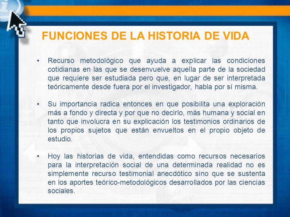 DATOS QUE PUEDE CONTENER LA HISTORIA DE VIDA Descripción física.