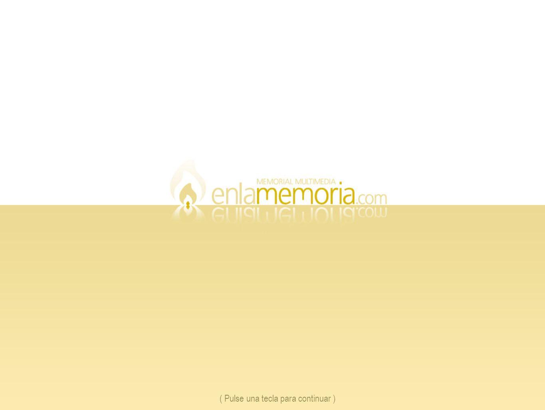 Galería de Mensajes ( Pulse una tecla para continuar ) 1.Listado de mensajes dejados en el Memorial con el nombre de quien los envió.
