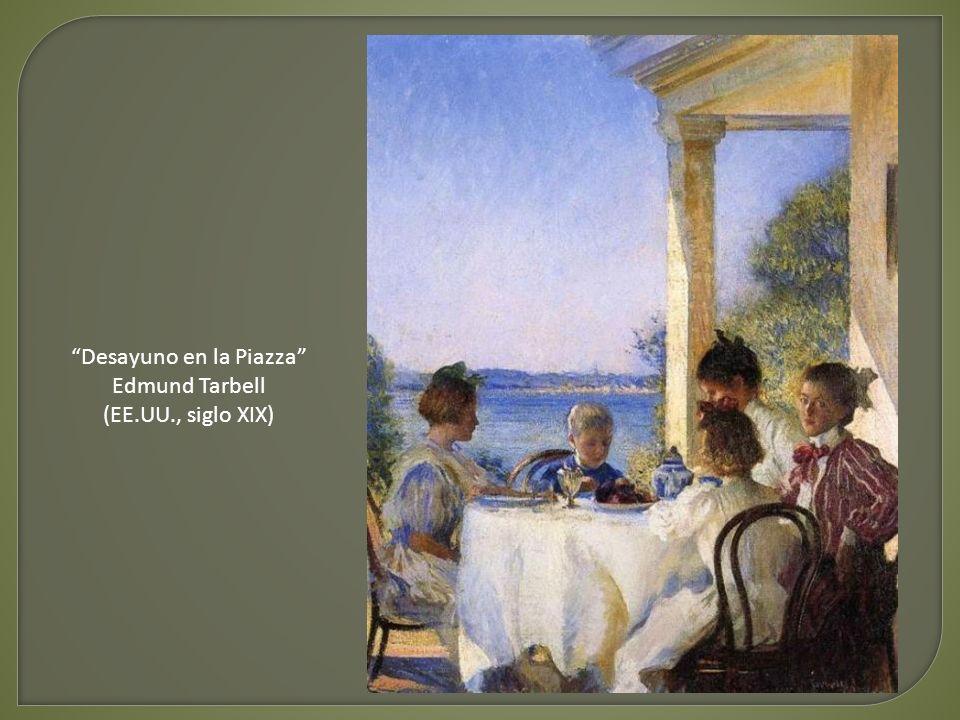 Almuerzo - Gustave Caillebotte (Francia, siglo XIX)