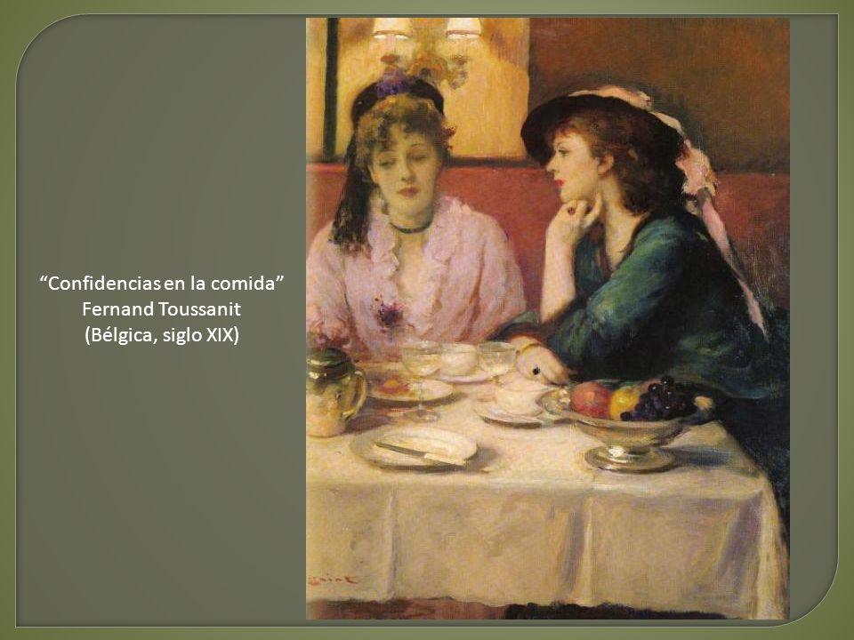 La comida de la mañana William Adolphe Bouguereau (Francia, siglo XIX)
