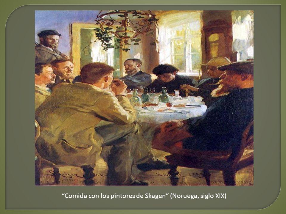 Desayuno con ensaimada - Matías Quetglas (España, siglo XX)