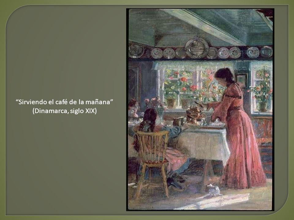 La hora del desayuno - Hanna Pauli (Suecia, siglo XIX)