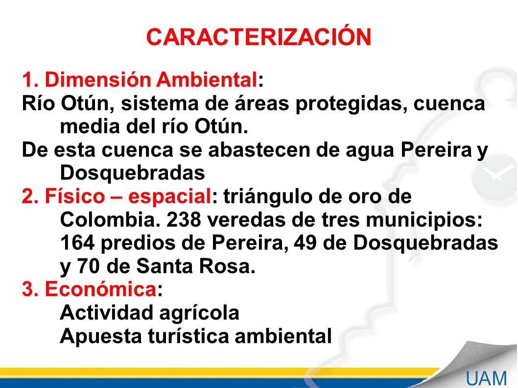 CARACTERIZACIÓN 1.