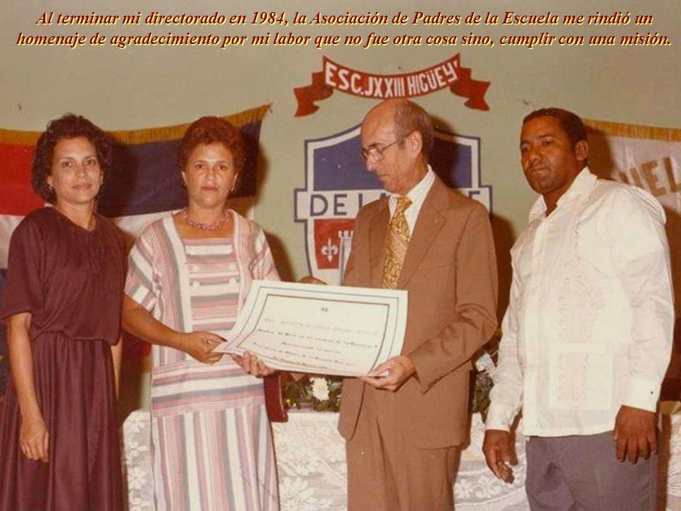 El 7 de agosto de 1983 recibí la triste noticia del fallecimiento de mi mamá a los 83 años de edad, ocurrido en la ciudad de Miami, afectada por la ar