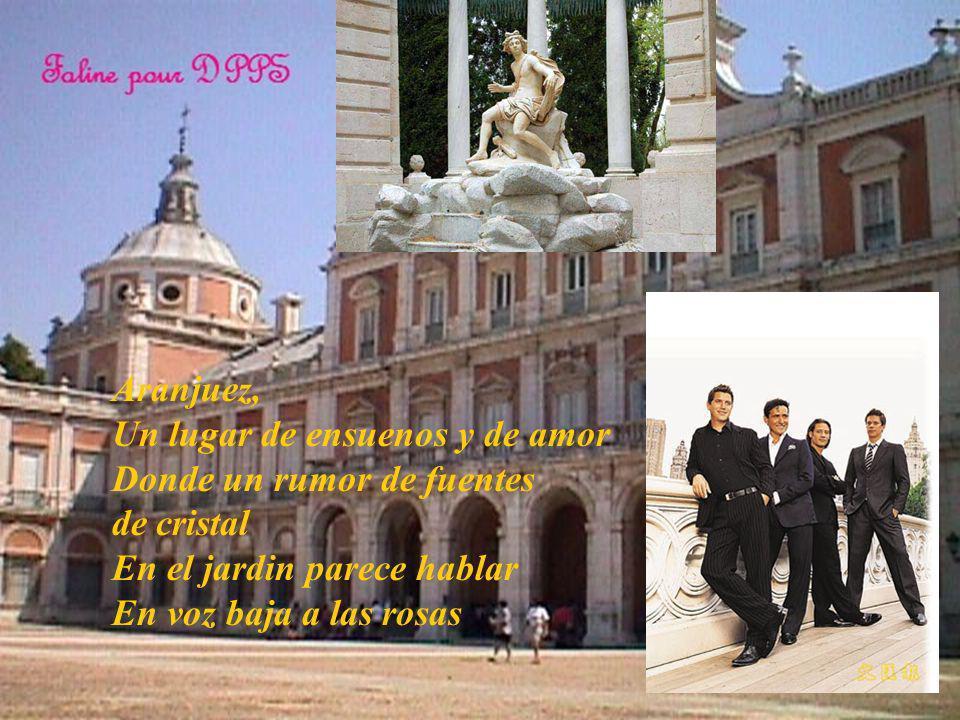 Faline Présente Il Divo En Aranjuez con tu Amor