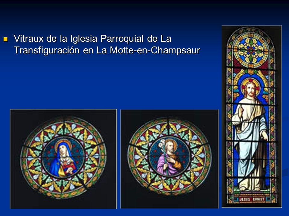 Vitraux de la Iglesia Parroquial de La Transfiguración en La Motte-en-Champsaur Vitraux de la Iglesia Parroquial de La Transfiguración en La Motte-en-Champsaur