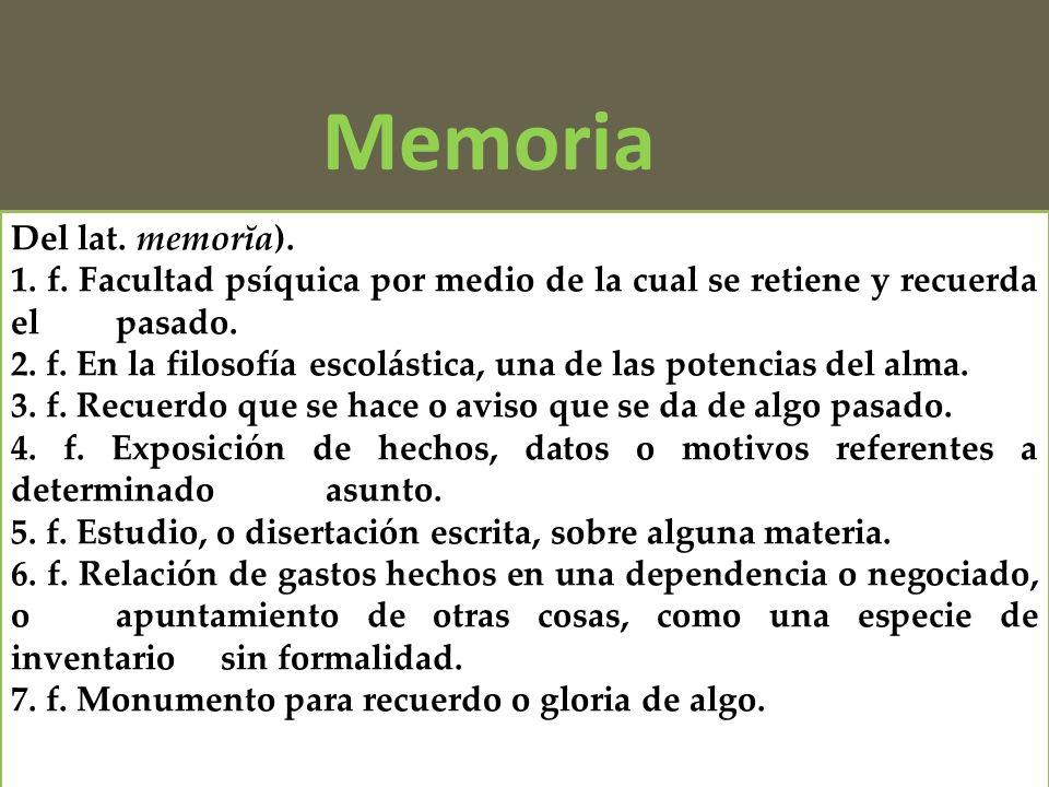Representación Memoria Testimonio Memoria