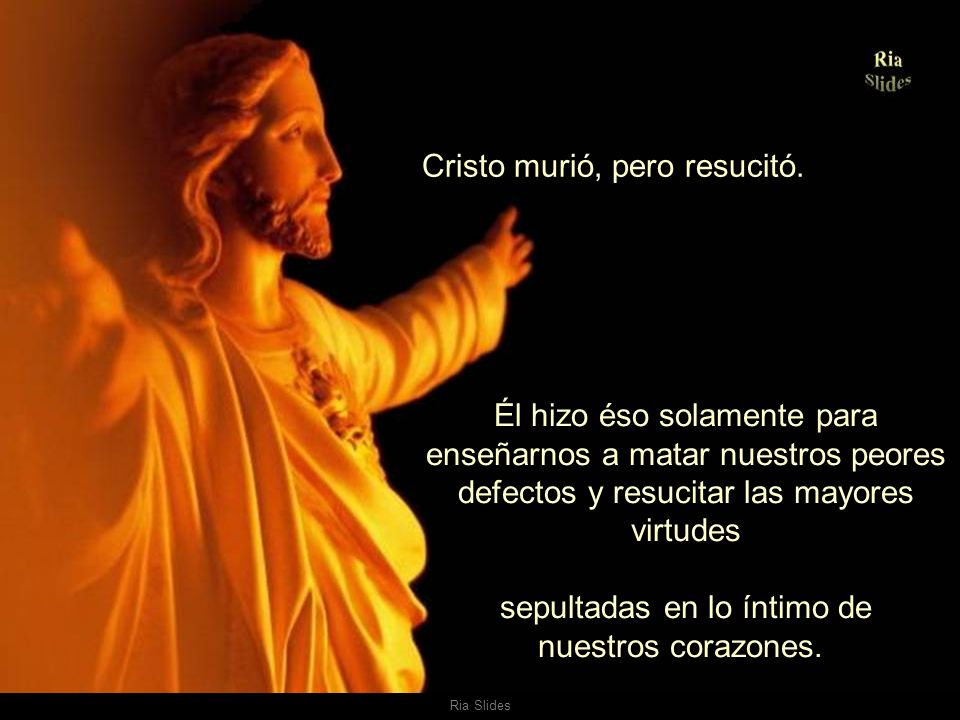 Ria Slides Resurrección de los sueños, de los recuerdos.