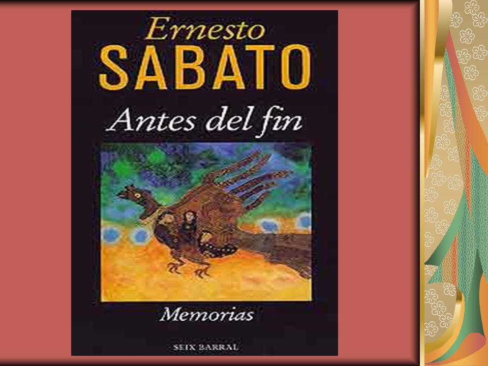 Antes del Fin De Ernesto Sabato Análisis del libro realizado por el CHB del Hospital Zonal de Oliva.