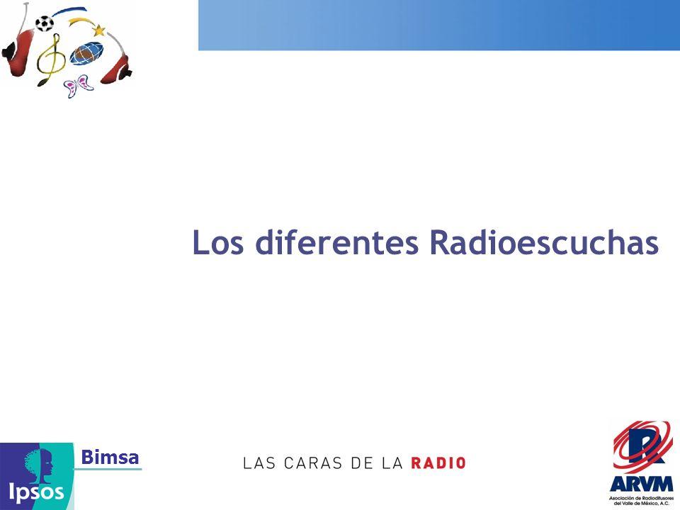 Bimsa Los diferentes Radioescuchas