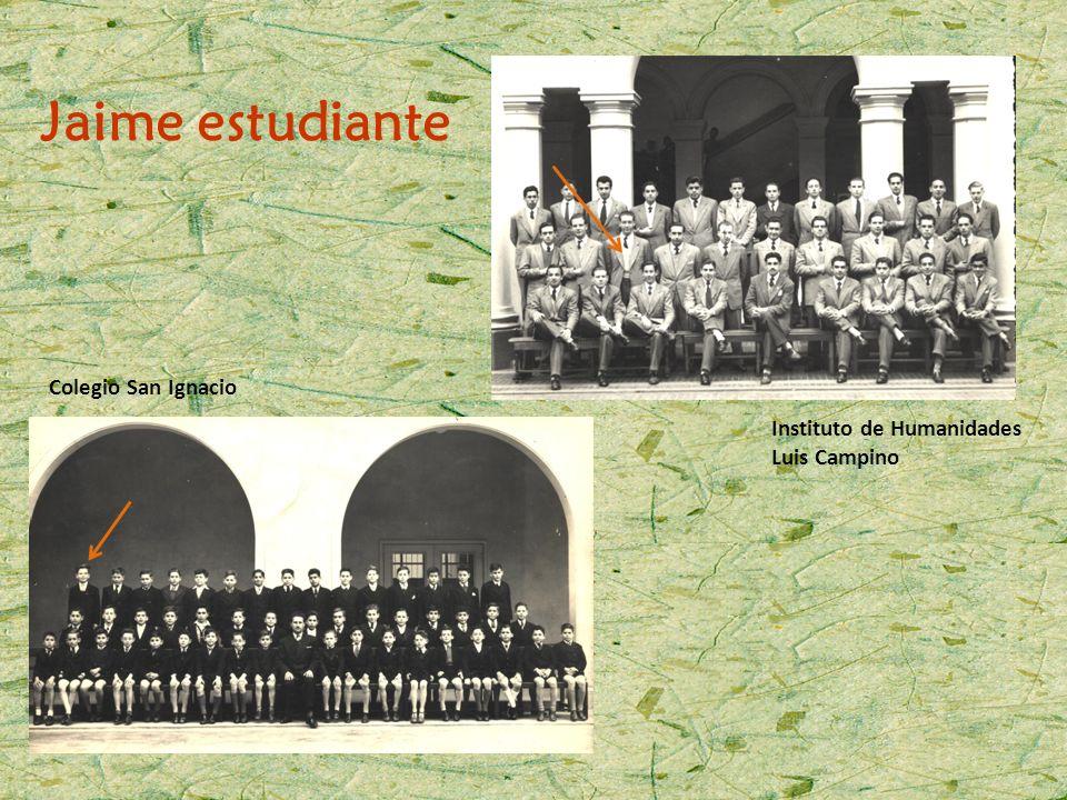 Jaime estudiante Colegio San Ignacio Instituto de Humanidades Luis Campino