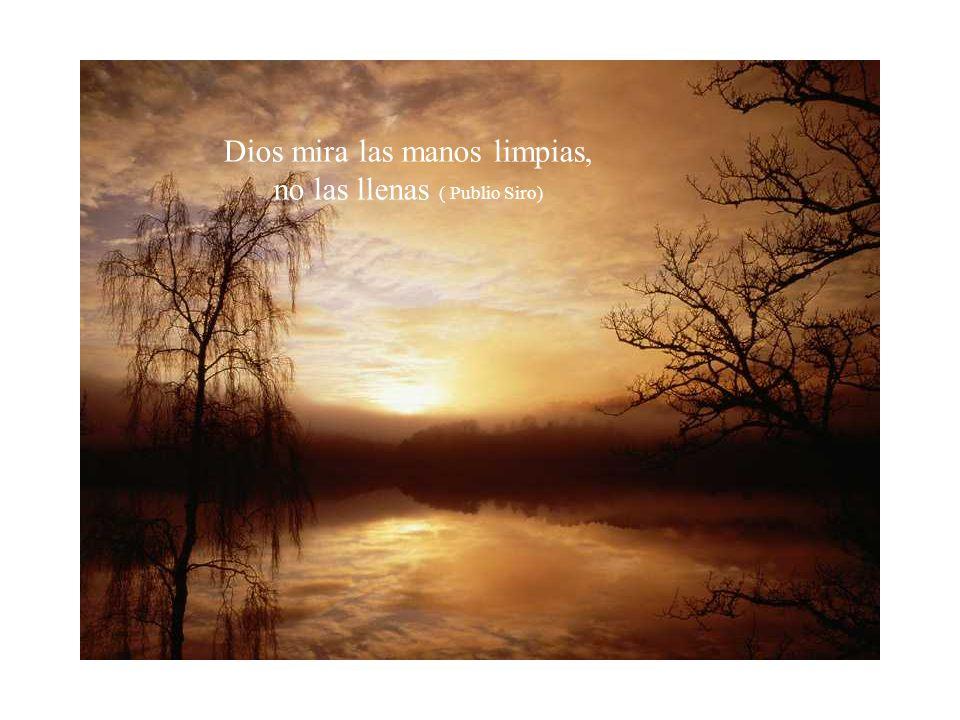 El silencio es el único rumor que hace Dios cuando pasa por el mundo (Víctor Manuel Arbeloa)