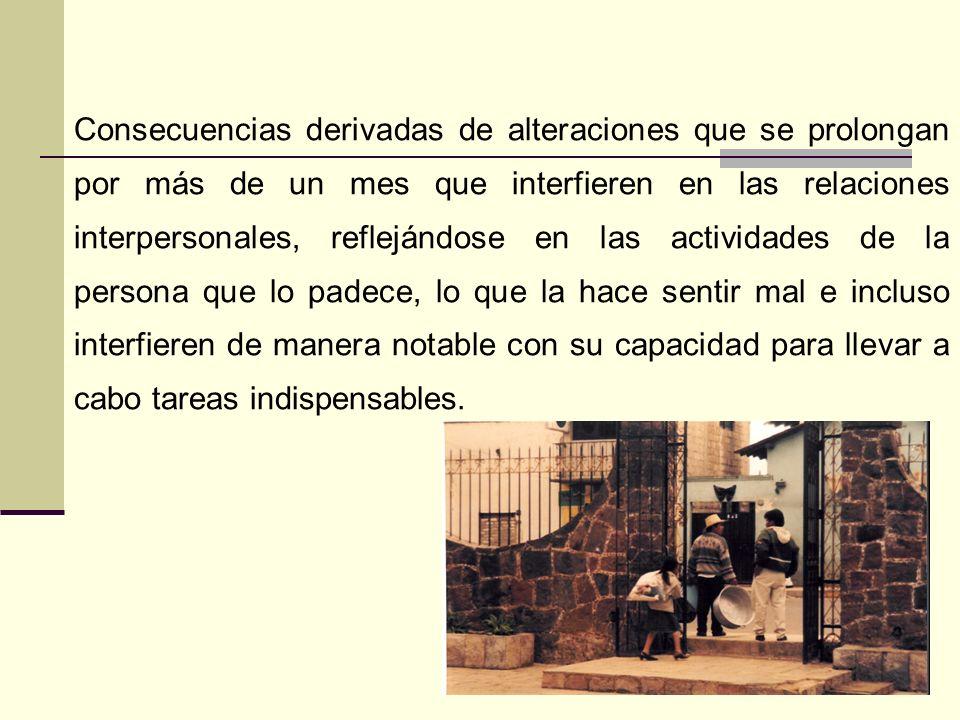 Restricción en la vida afectiva (p. Ej., incapacidad para tener sentimientos de amor) Sensación de un futuro limitado (p. Ej., no esperar obtener un e