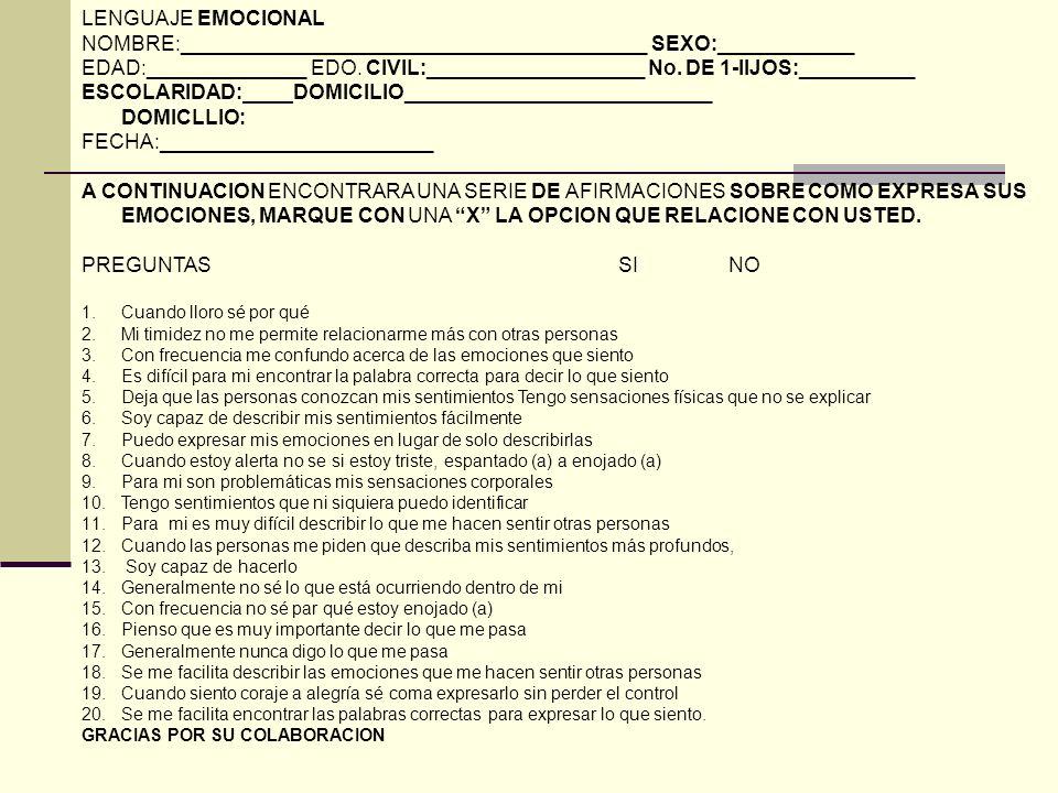 Instrumentos Escala de estrés Post Traumático elaborada por Valderrama y Domínguez 1996. El cuestionario Estilos de Afrontamiento ante el Estrés Psico